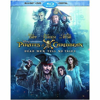 Pirates Of The Caribbean: Dead Men Tell No Tales Blu-ray, DVD, Digital w/Slipcvr