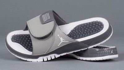 dc8e22d9a9fb Nike Air Jordan Hydro Xi Retro Slide Sandals - Grey Aa1336-004 Uk14 Eur49.