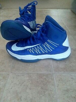 size 40 92af8 d1123 Men s Nike Hyperdunk 2012 TB Royal Blue white NDS basketball shoes lunar sz  8