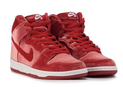 best sneakers 9142d bacd7 Nike Dunk High Premium SB Size 12 Red Velvet 313171-661 New With Box