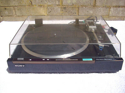 Sony Ps-X600 Biotracer Turntable
