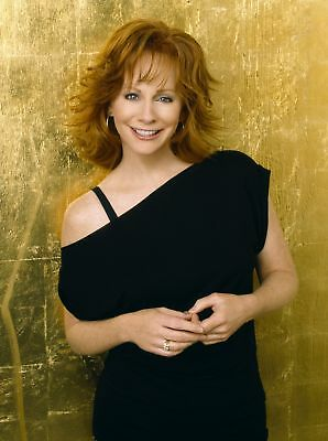 GLOSSY PHOTO PICTURE 8x10 Reba Mcentire Short Red Hair