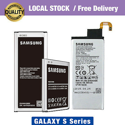 Genuine Battery Replacement For Samsung Galaxy S9 8 Plus 7 6 edge S5 2 4 S3 mini