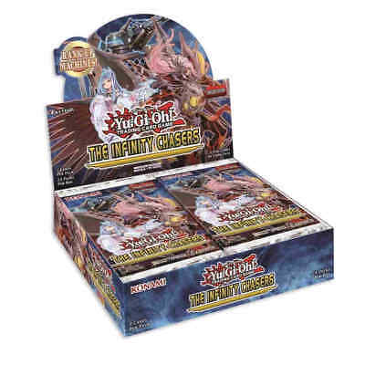 Yu-Gi-Oh! The Infinity Chasers Booster Box  PRESALE WILL BE HOT!