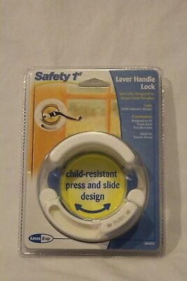 Safety 1st French Door Lever Handle Baby Proof Child Lock - One Hand Use