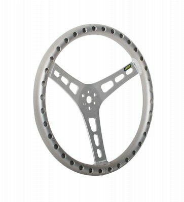"""JOES Racing Products 13514-A 14"""" DISHED STEERING WHEEL, ALUMINUM"""