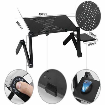 360° Adjustable Foldable Laptop Stand Desk Notebook PC Desk Table Bed Sofa Tray
