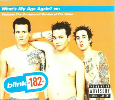 Blink 182: What's My Age Again Cd #1 [4 Track Cd Single]