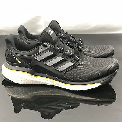 new styles b216d 9eeb1 Adidas Energy Boost Mens Running Ultra Anniversary Black Silver Size 10  CQ1762