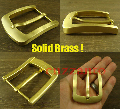 Solid Brass Vintage Classical Tongue Pin Hippie Belt buckle Buckles Z359