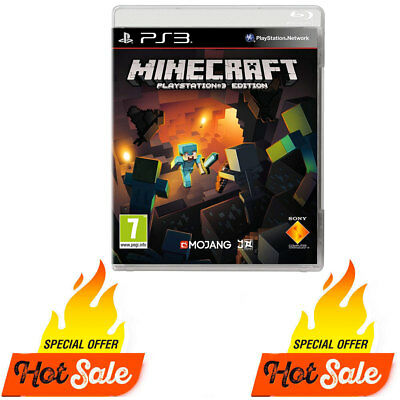 PS3 Minecraft Game for PlayStation 3 Ps3 Edition - BRAND NEW SEALED