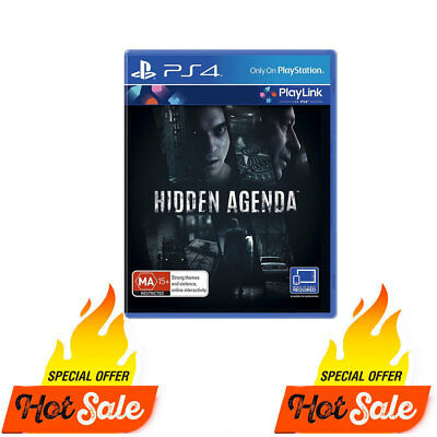 PS4 Hidden Agenda Game For Playstation 4 PSIV BRAND NEW SEALED