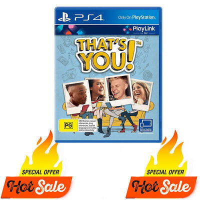PS4 That's You Game For Playstation 4 PS4 Party - BRAND NEW SEALED