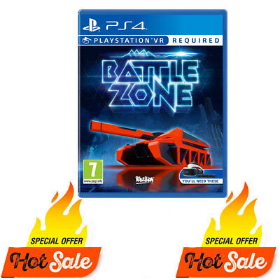 PS4 Battle zone PlayStation 4 VR, PS4, PSVR Game Brand NEW Sealed Battle Zone