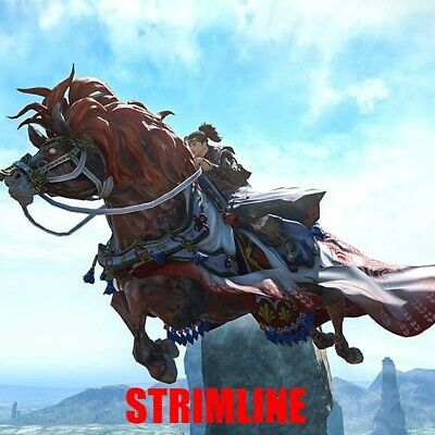 FINAL FANTASY XIV FFXIV FF14 Mount : Red Hare (Account-wide)