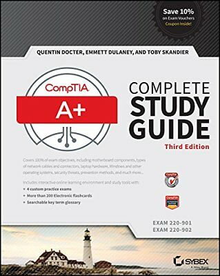 Brand New:CompTIA A+ Complete Study Guide: Exams 220-901, 220-902 3rd INTL ED