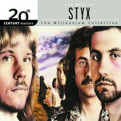 20th Century Masters: The Best of Styx by Styx (CD, Jun-2002, A&M) *NEW*