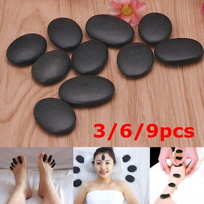 Hot Spa Lava Volcanic Rock Basalt Massage Therapy Stone Natural Energy Stone