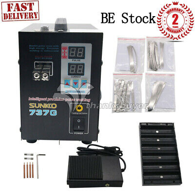 737G Spot Welder 1.5KW Battery Spot Welding Machine for 18650 Battery Pack BE EU