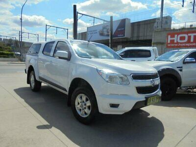 2012 Holden Colorado RG LT White Automatic A Utility
