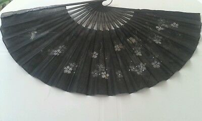Antico Ventaglio Accessori Donna Antique Old Fan Oggetto D'epoca Vintage