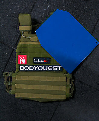 Weighted Training Vest CrossFit Military Running Airsoft Patches Sport