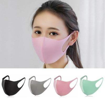 Washable Earloop Mask Cycling Anti Dust Filter Mouth Face Mask Care Respirator