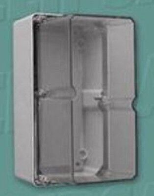 Clipsal INDUSTRIAL ADAPTABLE ENCLOSURE 198x101x140mm 2Gang With Gear Tray,Orange