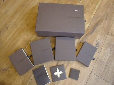 Genuine set of 5 Louis Vuitton drawer gift boxes mix sizes