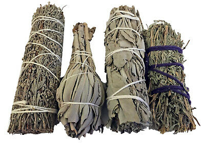 Sage Smudge Wands and Sticks Desert and Californian White All Sizes