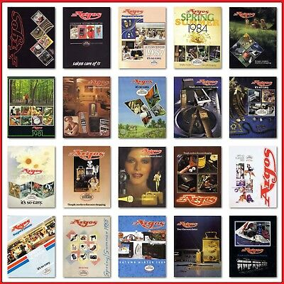 1980s 20 ARGOS COMPLETE CATALOGUES PDF FORMAT DOWNLOAD UPDATED