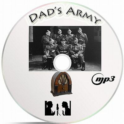 Dad's Army 71 Episodes Old Time Radio Shows MP3 Audio Format Supplied On A CD