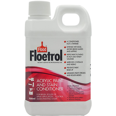 Floetrol ACRYLIC PAINT & STAIN CONDITIONER 500ml - Makes Paint Flow