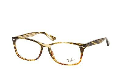 aa114b4c179 Brand New 2019 Ray Ban Eyeglasses Rb 5228M 5840 Rx Authentic Frame Italy  Case S