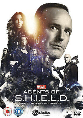 AGENTS OF SHIELD COMPLETE SERIES 5 DVD Fifth Season UK Brand New Sealed R2