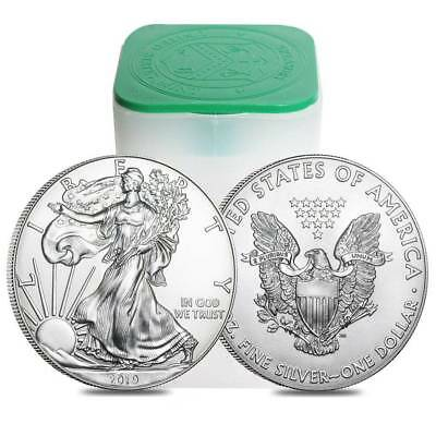 2019 New 1oz American Silver Eagle coin 1 x Silver Bullion Coin.