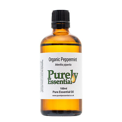 Organic Peppermint Essential Oil 10ml 50ml 100ml 100% Pure & Natural, Purely