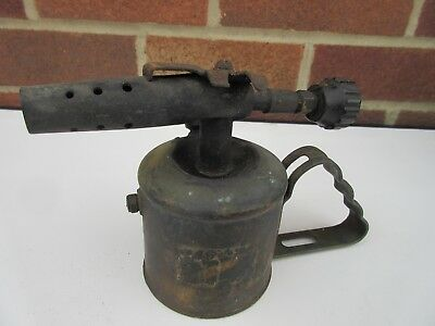 Bladon B43 Petrol Blow Torch Lamp Unrestored Original Condition With Decal