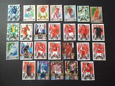 MATCH ATTAX Football Cards - Various - LOT includes MOTM 100 Club Limited