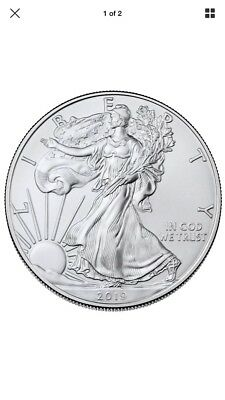 2019 1 oz American Silver Eagle $1 GEM BU SKU55748