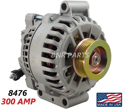 300 Amp 8476 Alternator Ford F Super Duty 6.0L High Output Performance HD NEW
