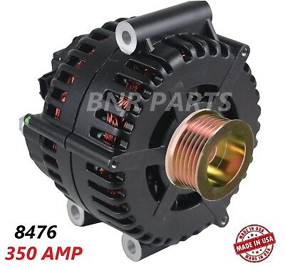 350 Amp 8476 Alternator Ford F Super Duty 6.0L High Output Performance HD NEW