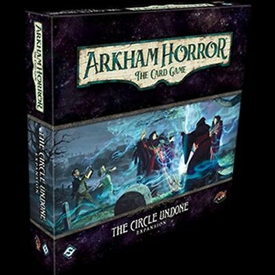 The Circle Undone Deluxe expansion for Arkham Horror LCG