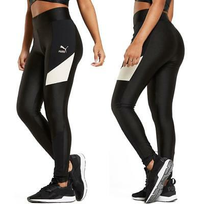 Puma Retro Legging Damen Tights Hose Jogginghose Trainingshose Sporthose