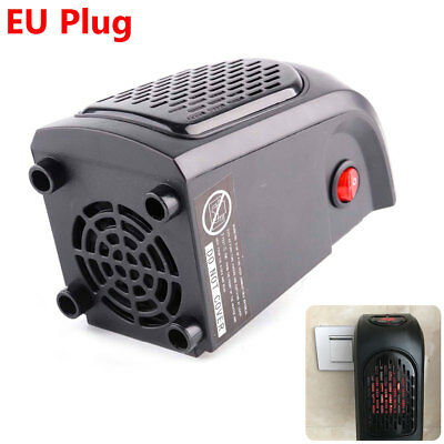 Portable 400W 220-240V Mini Furnace Plug-in Electric Wall-outlet Space Heater