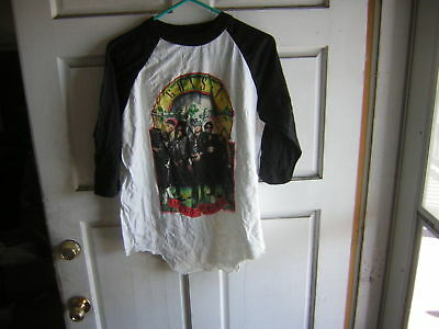 Guns N Roses T Shirt Jersey 1989 Vintage Welcome To The Jungle Unused Xl License