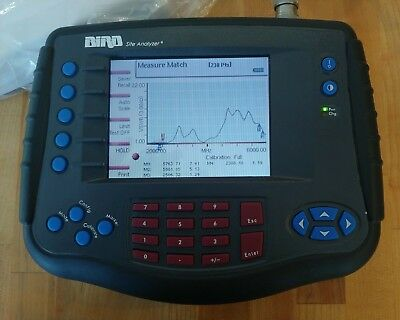 Bird SA-6000ex Site Analyzer, 6ghz range, Higher Frequency than 2000 or 2500