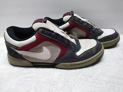 713c619eea53 Vintage Nike Skeet Mens Shoes SIZE 8.5  no laces red white blue