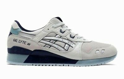 best service 40510 fcc84 ASICS MEN'S GEL-LYTE III Shoes NEW AUTHENTIC Grey/Silver 1191A201-020