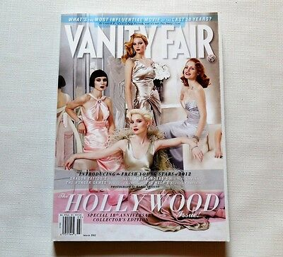 Vanity Fair Magazine The Hollywood Issue Fresh Young Stars March 2012 New